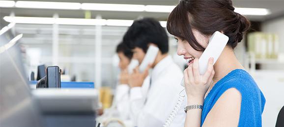電話か問合せフォームで連絡