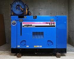 北越工業 エアマン PDS125S エンジンコンプレッサー