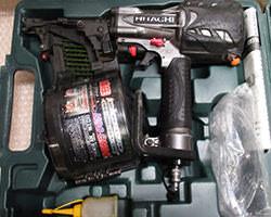 ハイコーキ 高圧ロール釘打機 NV90HMC
