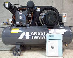 アネスト岩田 レシプロコンプレッサー TLP22EF-10