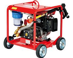 スーパー工業 フレーム型 高圧洗浄機 SER-2307