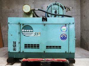デンヨー エンジンコンプレッサー DIS-55SB