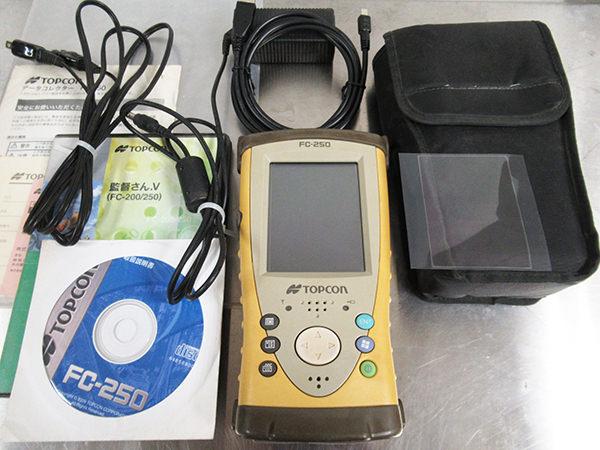 トプコン データコレクタ FC-250 GNSS統合観測 監督さんV