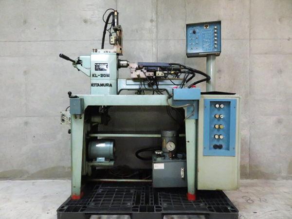 北村製作所 KL-20形 精密卓上施盤 製造 昭和56年3月