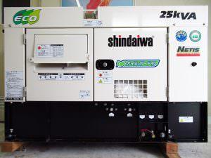新ダイワ マルチディーゼル発電機やまびこ DGM250MK