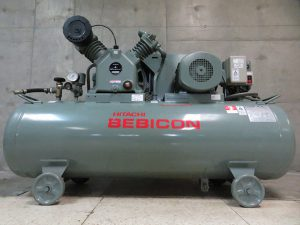 HiKOKI 日立工機 コンプレッサー 3.7P-14VP5 50Hz ベビコン 5馬力