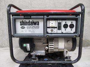 新ダイワ 発電機 EGR2600