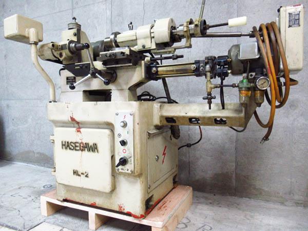 長谷川機械 HL-2 ネジ切旋盤