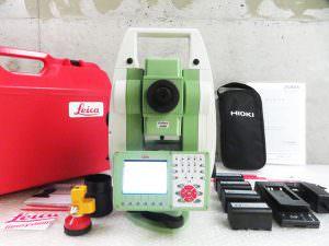 2019年 校正済 Leica ライカ TS15 自動視準 トータルステーション / GEB221 7.4V バッテリー 5個 充電器 管理工具0808TTA