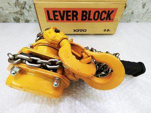 キトー KITO レバーブロック L5形 0.8t 1.5m LB008