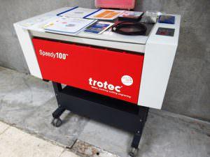 trotec トロテック レーザー加工機 Speedy100
