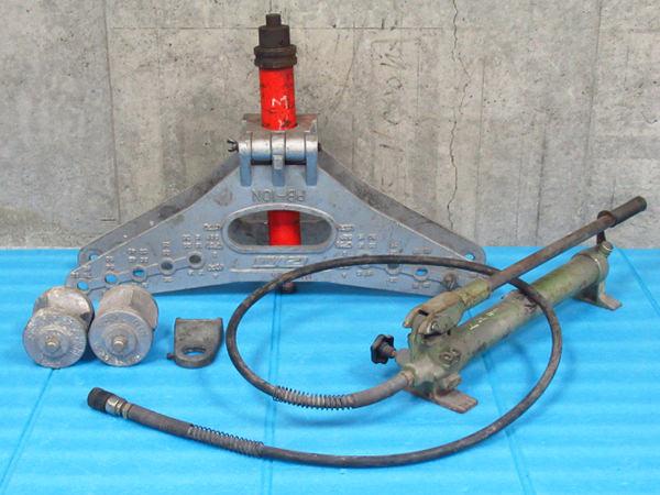 IZUMI 泉精機 油圧式ベンダー PB-10N パイプベンダー  手動油圧ポンプ SP-1